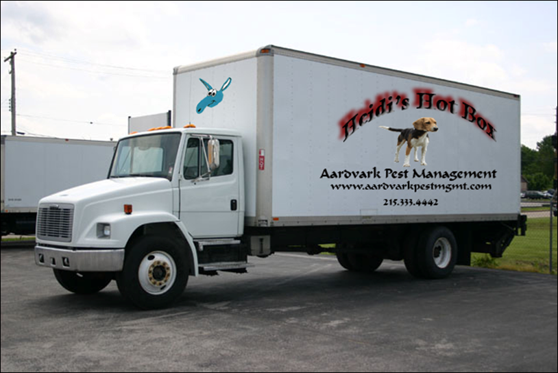 Bed Bug Fumigation Moving Truck